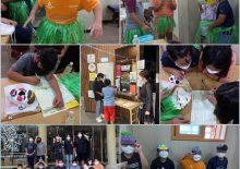 [하회세계탈박물관]9월 16일 예천지역아동센터 3차시 수업진행